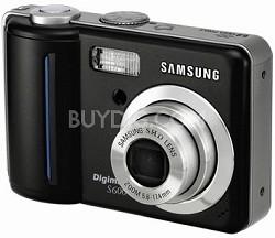 Digimax S600 6.0 mega-pixel Digital Camera (Black)