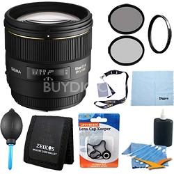 85mm F1.4 EX DG HSM Lens for Nikon AF DSLRs - Pro Lens Kit