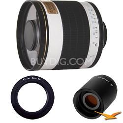 ED500M - 500mm f/6.3 ED Mirror Lens for Sony E-Mount (NEX) and 2x Multiplier
