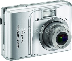 Z10T ZoomTouch 10 MP Silver Digital Camera w/ 3X Zoom, 3.0 Inch Touch LCD