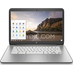 "Chromebook 14-x010nr 14"" - New Version - Snow White - OPEN BOX"