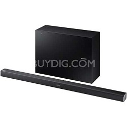 HW-J550 - 2.1 Channel 320 Watt Wireless Audio Soundbar (Black)