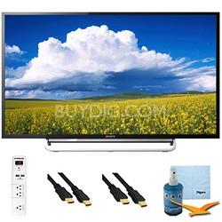 "60"" 1080p LED Smart HDTV Motionflow XR 480 Plus Hook-Up Bundle - KDL60W630B"