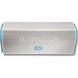Roar Bluetooth Speaker, White/Blue (F6S97AA#ABL)