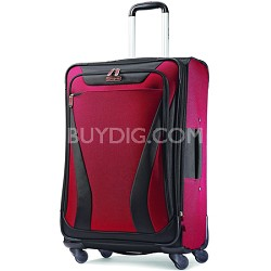 "Aspire Gr8 25"" Exp. Spinner Suitcase - Crimson Red"