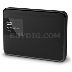 My Passport Ultra 4 TB Portable External Hard Drive, Black