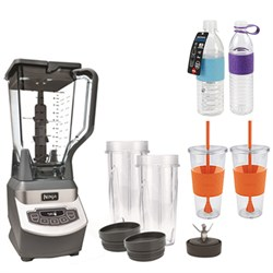 BL660 Ninja Professional Style Blender w/ Single Serve w/ Copco Bottles Bundle