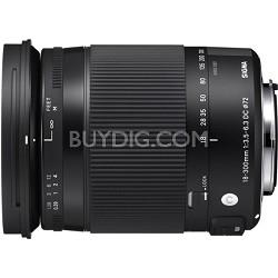 18-300mm F3.5-6.3 DC Macro HSM Lens (Contemporary) for Pentax KAF Cameras
