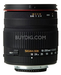 18-200mm F3.5-6.3 DC 11.1x Zoom Lens for Nikon