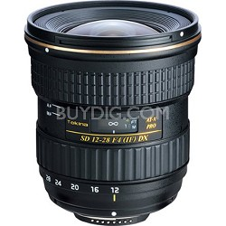 12-28mm f/4.0 AT-X Pro APS-C Lens for Canon