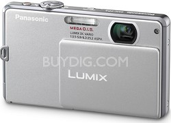 DMC-FP1S LUMIX 12.1 MP Digital Camera (Silver)