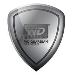 WD Guardian Pro 1 Yr Plan
