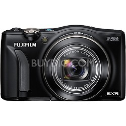 FinePix F750EXR 16MP EXR CMOS Digital Camera (Black)