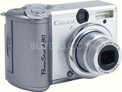 CLOSEOUT***Powershot A80 Digital Camera