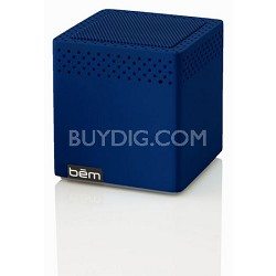 Mini Mobile Bluetooth Speaker (Blue) - BEMCSB