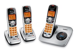 DECT 6.0 Cordless Phone with Caller ID and 3 Handsets