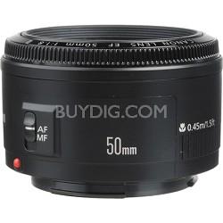 EF 50mm F/1.8 II Standard Auto Focus Lens - OPEN BOX