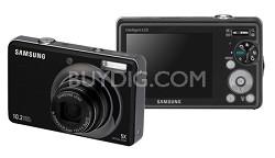 """SL620 12MP/ 5X OPT/ MPEG4 Movie/ 3.0"""" LCD Digital Camera (Black)"""