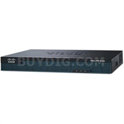 Modular Router with 2 GE 2 EHWIC Slots - CISCO1921/K9