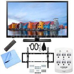 32LF500B - 32-Inch 720p 60Hz LED HDTV Tilt Mount & Hook-Up Bundle