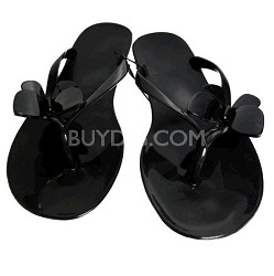 Jelly Sandals Black Size X-Large (11)