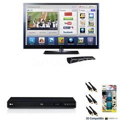 """42LV5500 - 42"""" 120hz 1080 WiFi Ready LED Smart TV w/ Magic Remote - Bundle"""