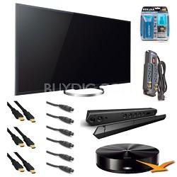 XBR-55X850A 55-Inch 4K Ultra HD 120Hz 3D LED HDTV Ultimate Bundle
