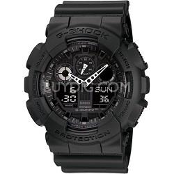 GA100-1A1 - G-Shock Classic G Black Resin Quartz Watch
