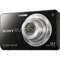 Cyber-shot DSC-W560 Black Digital Camera