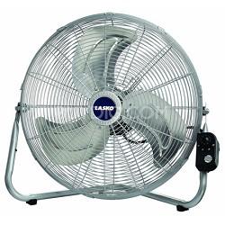 "2265QM 20"" Max Performance High Velocity Floor/Wall Mount Fan - Silver"