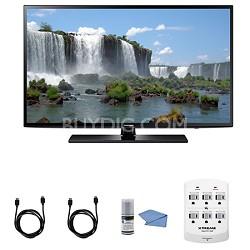 UN55J6200 Series 55-Inch Full HD 1080p 120hz Smart LED HDTV + Hookup Kit