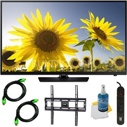 UN40H4005 - 40-Inch HD 720p Slim LED TV CMR 60 Plus Mount & Hook-Up Bundle