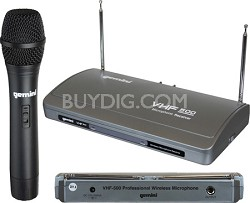 VHF-500 Single Channel Wireless System