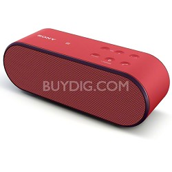 SRS-X2/RED Ultra Portable Bluetooth Speaker (Red)