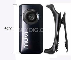 Muvi Atom Camcorder (Black)