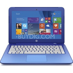 Stream 13 Laptop with Free Office 365 Personal for One Year - Horizon Blue