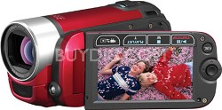 FS300 Flash Memory Camcorder Red
