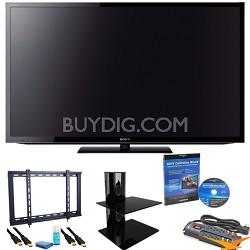 KDL55HX750 - 55 inch 3D Wifi XR 480hz TV Ultimate Bundle