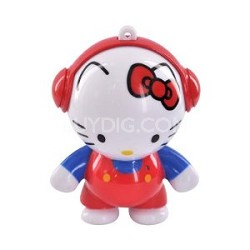 Headphonies-Hello Kitty  Designer Mini Portable Speaker for iPod iPhone
