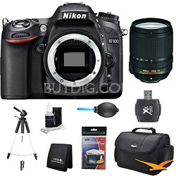 D7100 DX-Format Digital HD-SLR 18-140mm VR Pro Lens Bundle