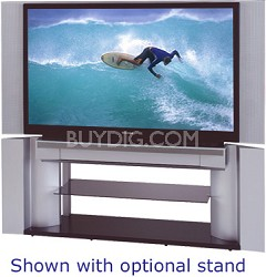 """46HM95 - 46"""" DLP Rear Projection Television + Free Toshiba TV stand- OPEN BOX"""