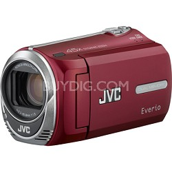 GZ-MS230 Camcorder (Red)