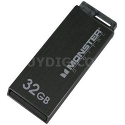 32GB USB 2.0 High Speed Colors Drive (Metallic Black)