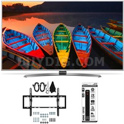 60UH7700 60-Inch Super UHD 4K Smart TV w/ webOS 3.0 Flat/Tilt Wall Mount Bundle