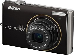 COOLPIX S640 Digital Camera (black)