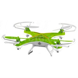 QR-8 Neutron Small Quadcopter WiFi with Camera (Green/Orange)