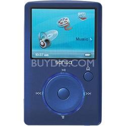 Sansa Fuze 4GB Blue MP3 Video Music Player (SDMX14R-004GB-A57)