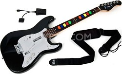 Wireless 10-Button Guitar Controller for PS 2 and PS 3 Rockband /Guitar Hero