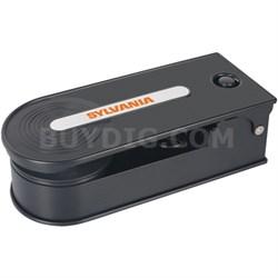 STT008USB Mini Turntable Record Player with USB Encoding - Black