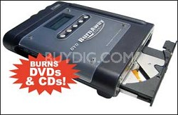 DVD-Burnaway Portable Memory Card to DVD/CD Burner